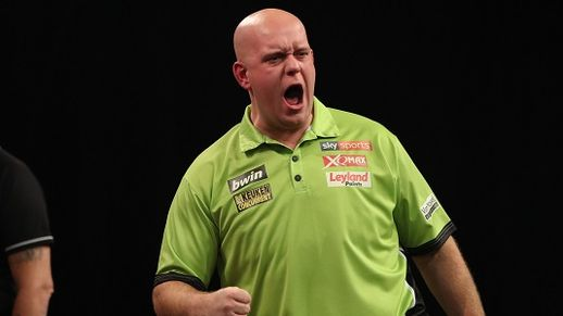 Grand Slam of Darts: Wolverhampton Treble For Van Gerwen