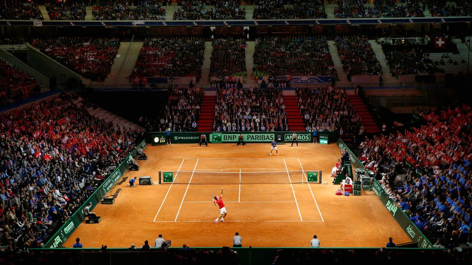 France choose Lille hard court for Davis Cup final against Belgium