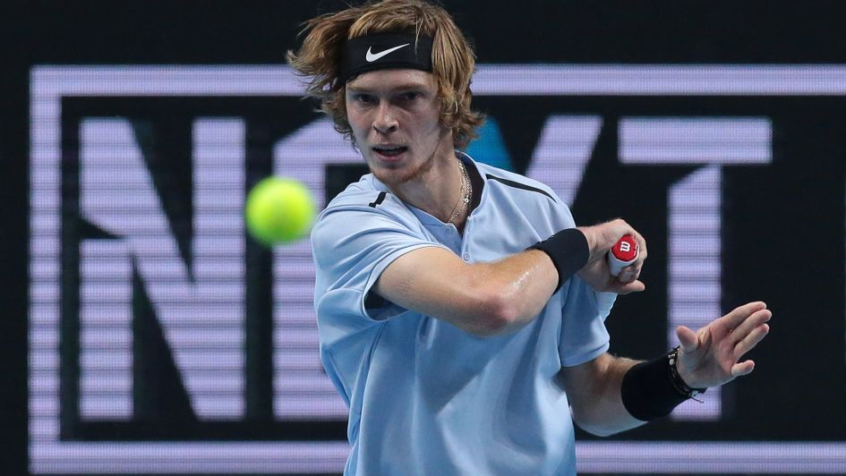 Rublev thrashes Coric, sets up Chung rematch in Next Gen final