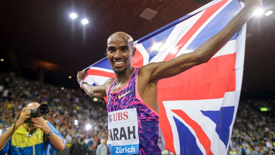 Legendary Mo Farah battles back to win his final track race