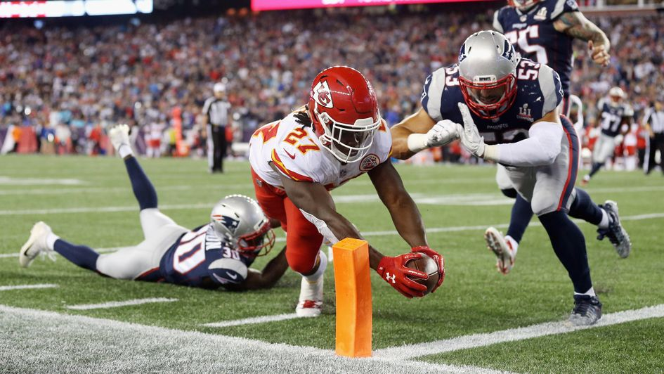 National Football League 2017: New England Patriots lose opener to Kansas City Chiefs