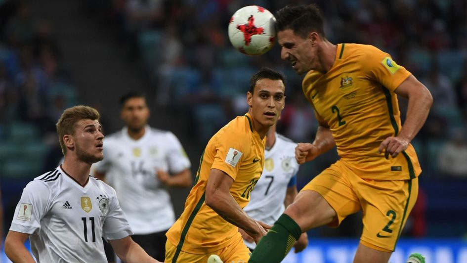 Tim Cahill wins 100th cap for Australia