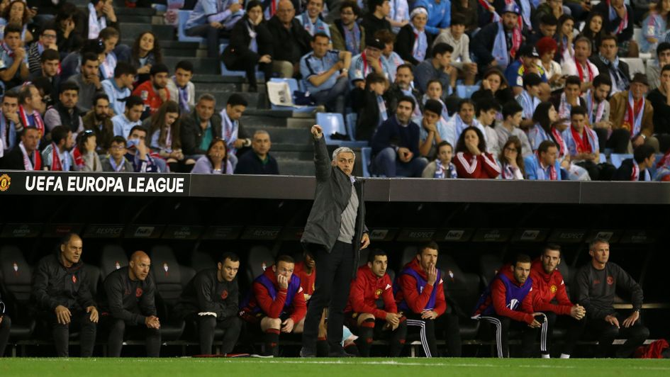 Celta Vigo 0 Manchester United 1: Rashford free-kick gives Mourinho´s men advantage