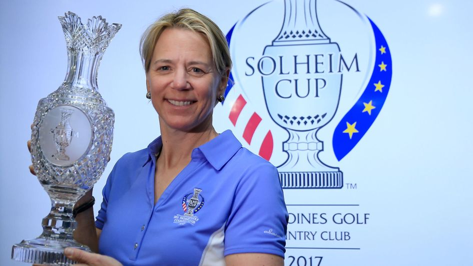 Four rookies in Europe's Solheim Cup team