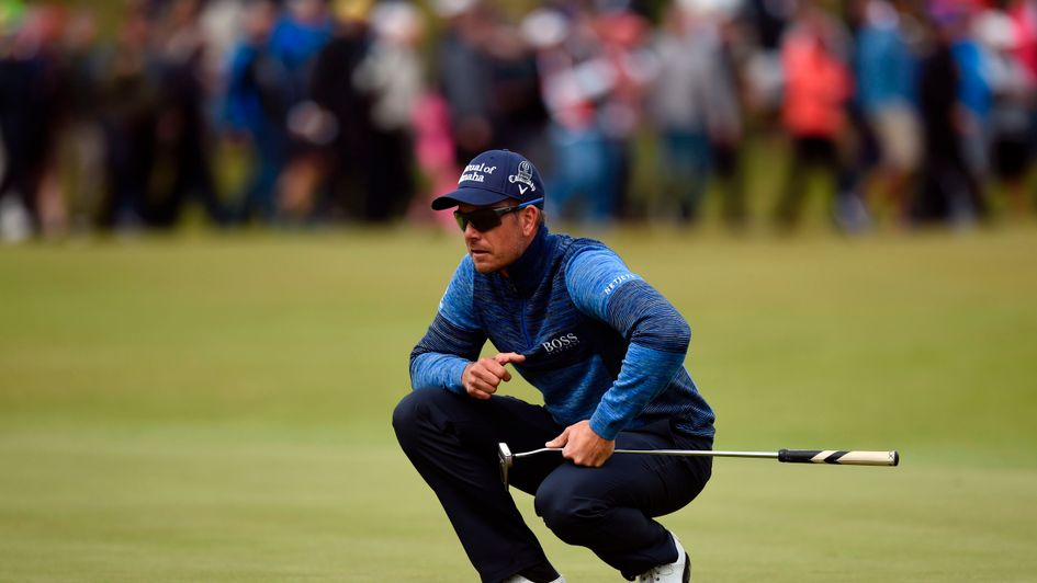 Defending champion Henrik Stenson is burglarized during British Open