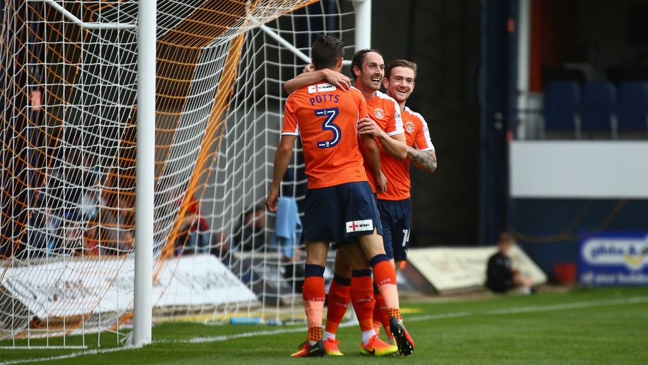 Luton Town's Olly Lee scores from 65 yards!