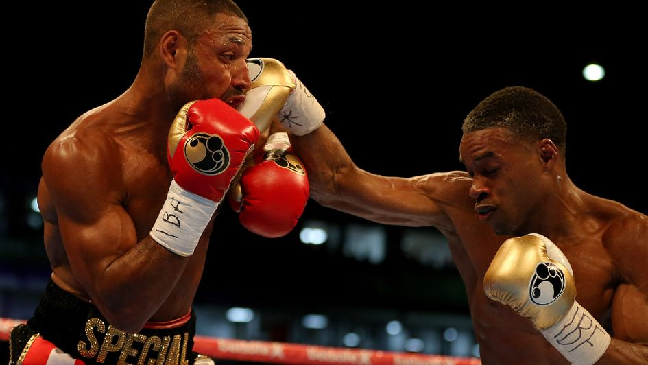 Hometown heartbreak for Kell Brook as Errol Spence claims welterweight title
