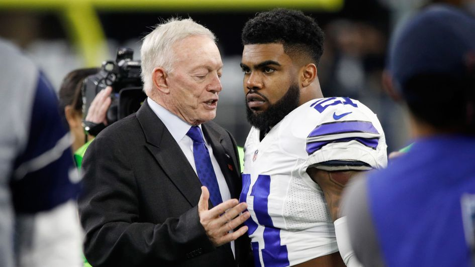 Cowboys RB Ezekiel Elliott suspended 6 games for conduct, report says