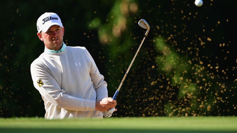 Bernd Wiesberger holds a one-shot lead