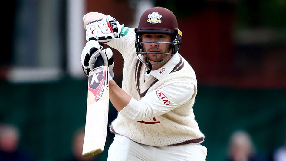 Surrey batsman Mark Stoneman