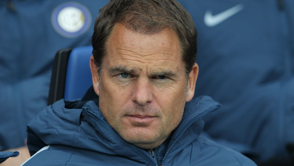 Frank de Boer: Crystal Palace set to appoint Dutchman as manager