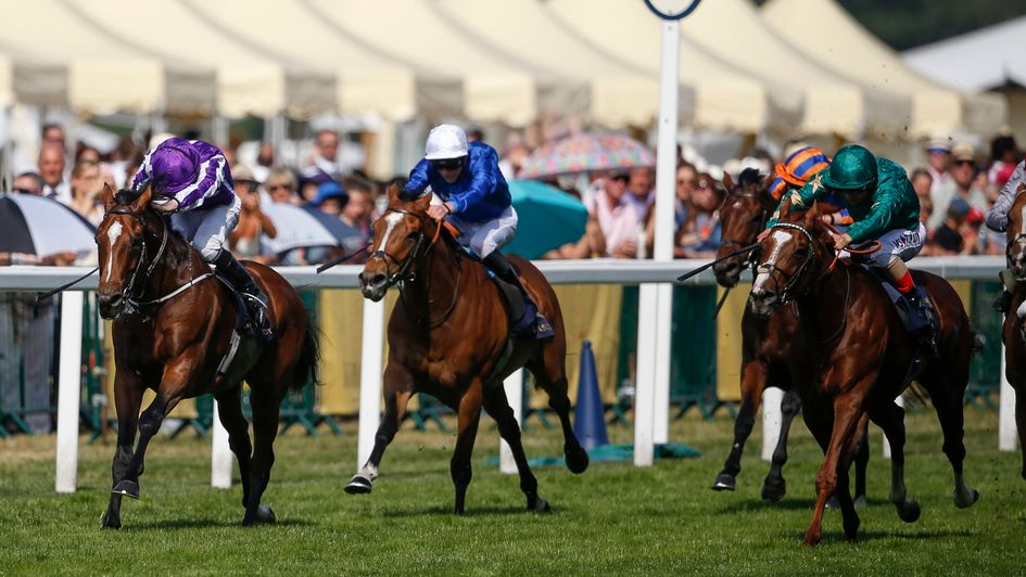 Ribchester leads Godolphin treble on opening day at Royal Ascot