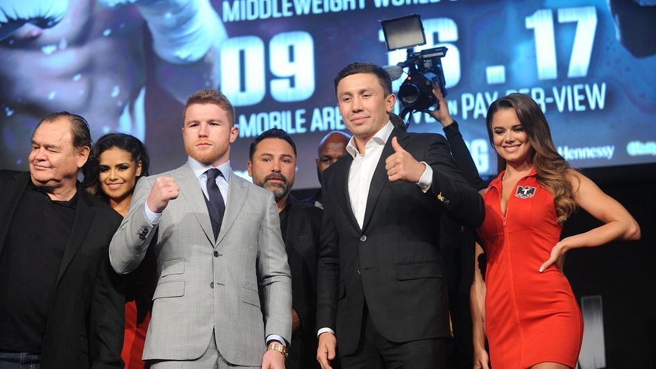 Golovkin likens Alvarez superfight to new date