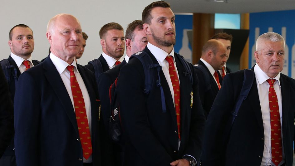 Lions prioritise test wins after arriving in New Zealand