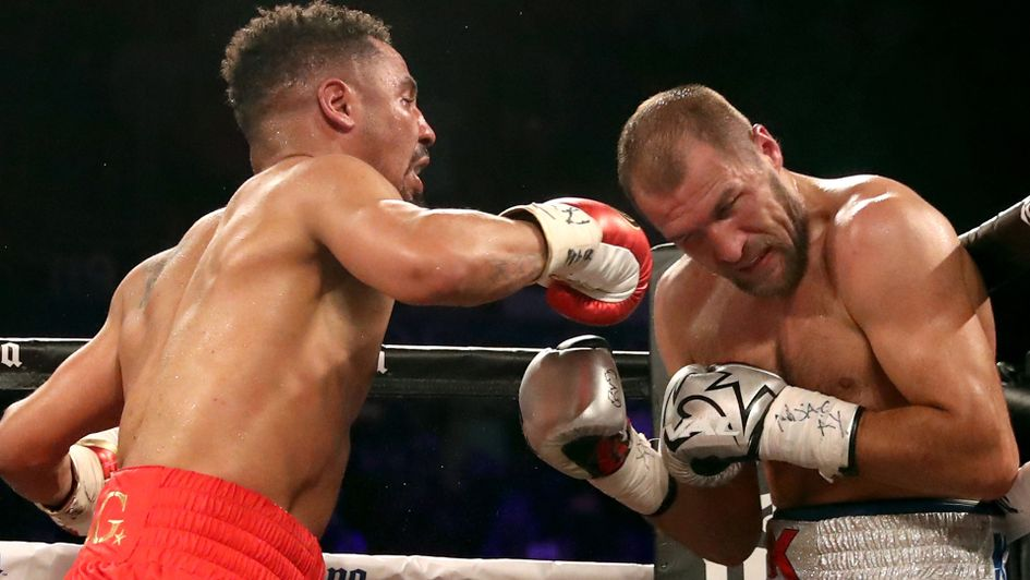 Andre Ward beats Sergey Kovalev in Las Vegas rematch