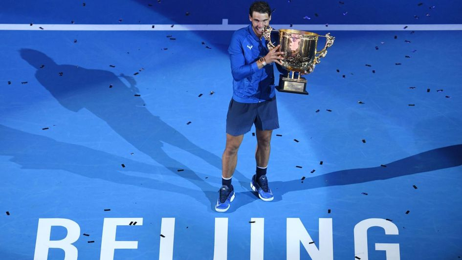 Nadal Wins Sixth Title of Year in Beijing; Garcia Beats Halep