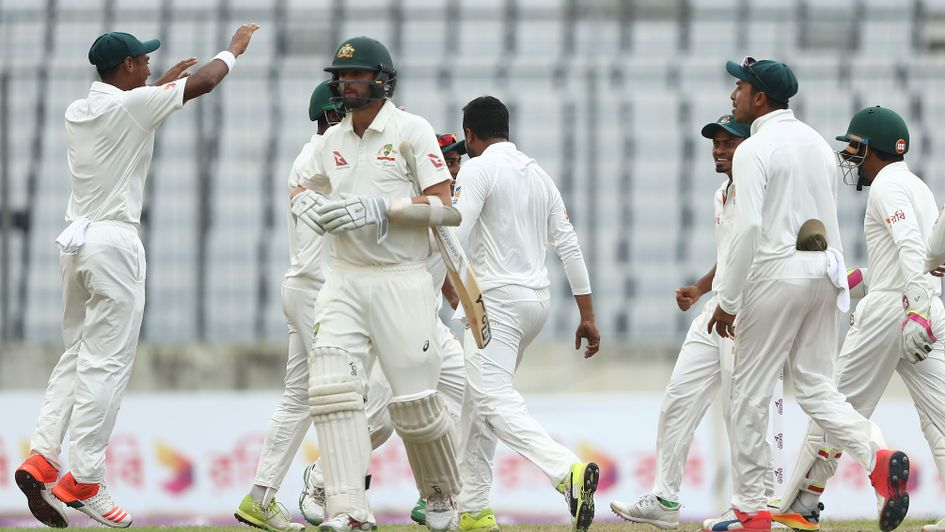 Shakib brilliance puts Bangladesh in box seat vs Australia