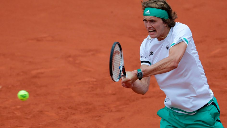 Zverev loses on day of upsets on French Open showcourt