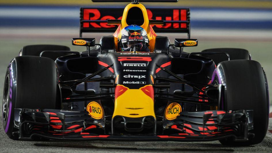Singapore GP: Daniel Ricciardo bullish about Red Bull chances after fantastic Friday