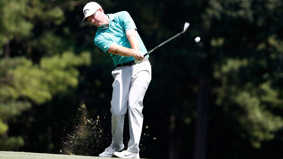Superb round pushes Chad Collins to comfortable lead at Barbasol
