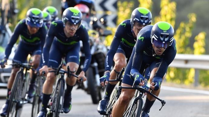 Movistar's Alejando Valverde wins Volta a Catalunya stage three