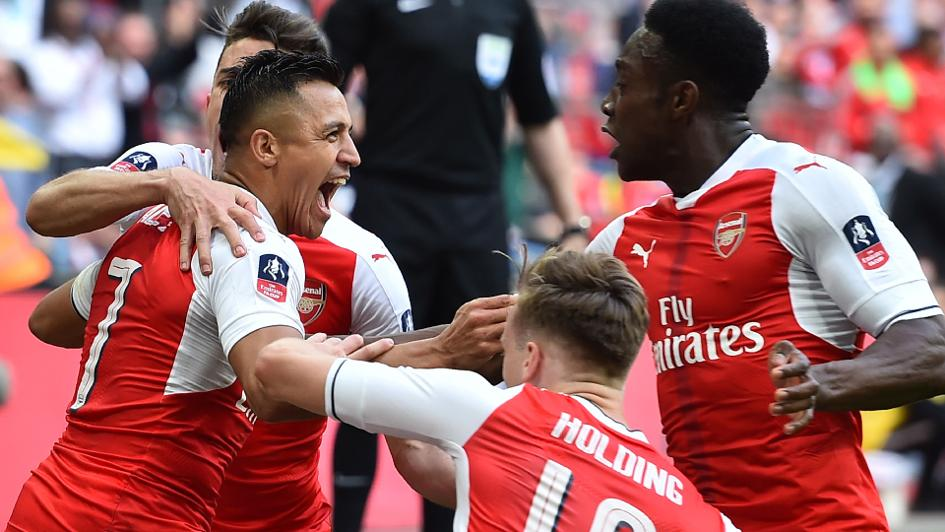 Sanchez sends Arsenal into FA Cup final with win over City