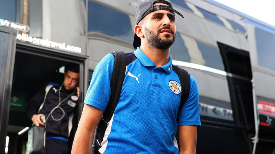 Leicester City star Riyaad Mahrez yet to receive an official offer