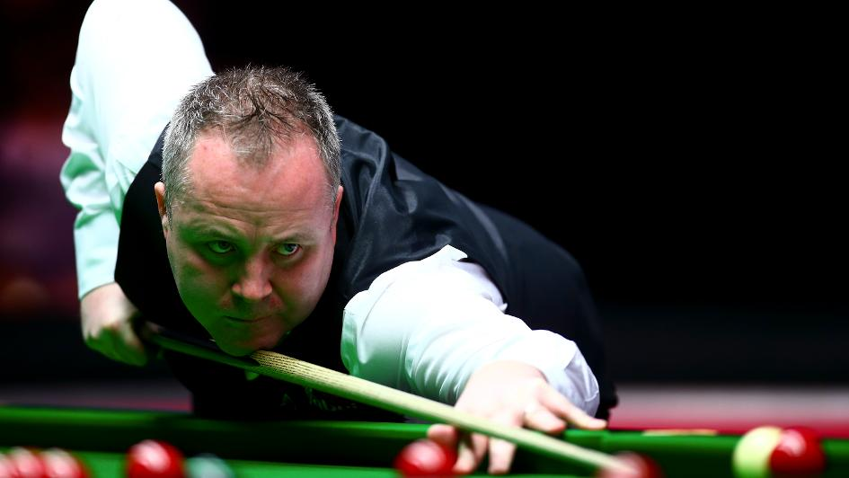 John Higgins takes surprise four-frame lead over Mark Selby