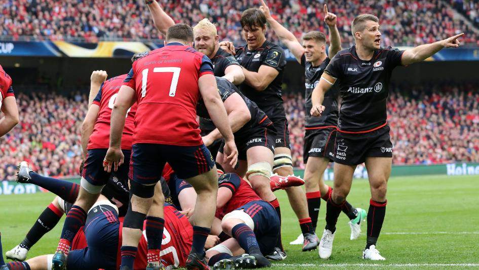 Lions stars lead Saracens to European Champions Cup final
